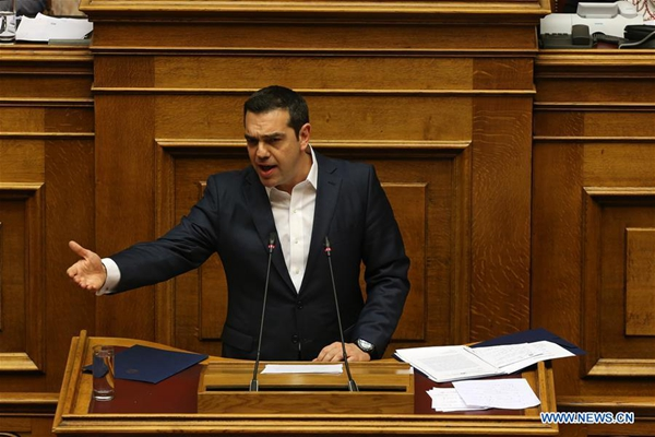 Greek gov't wins confidence vote