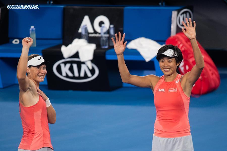 Stosur, Zhang make Aus Open doubles final