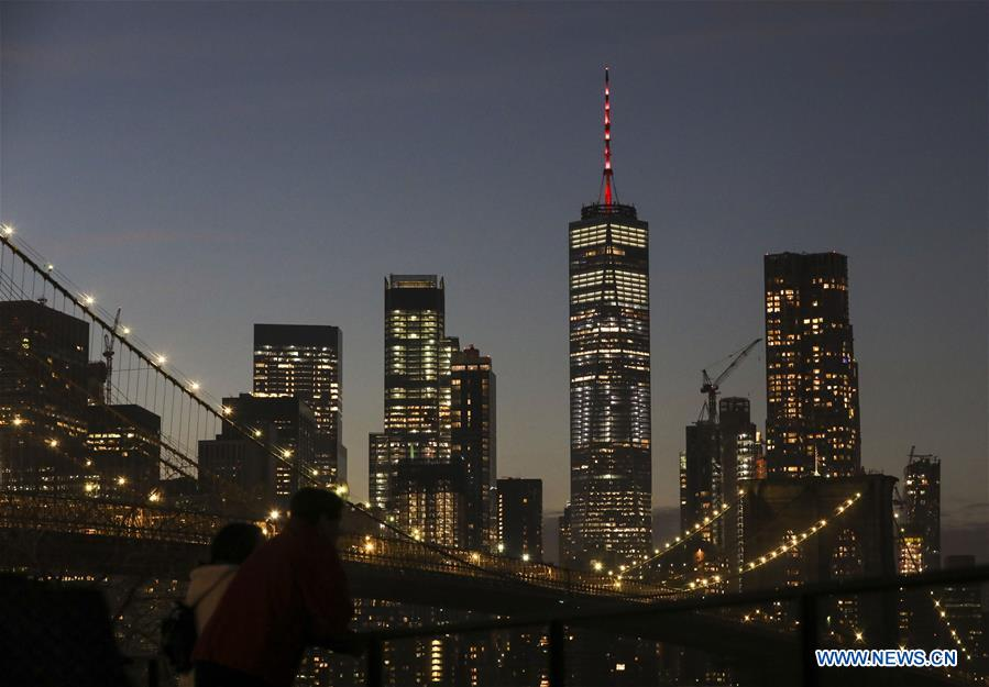 One World Trade Center Lit Up To Celebrate Upcoming Chinese New Year China Org Cn