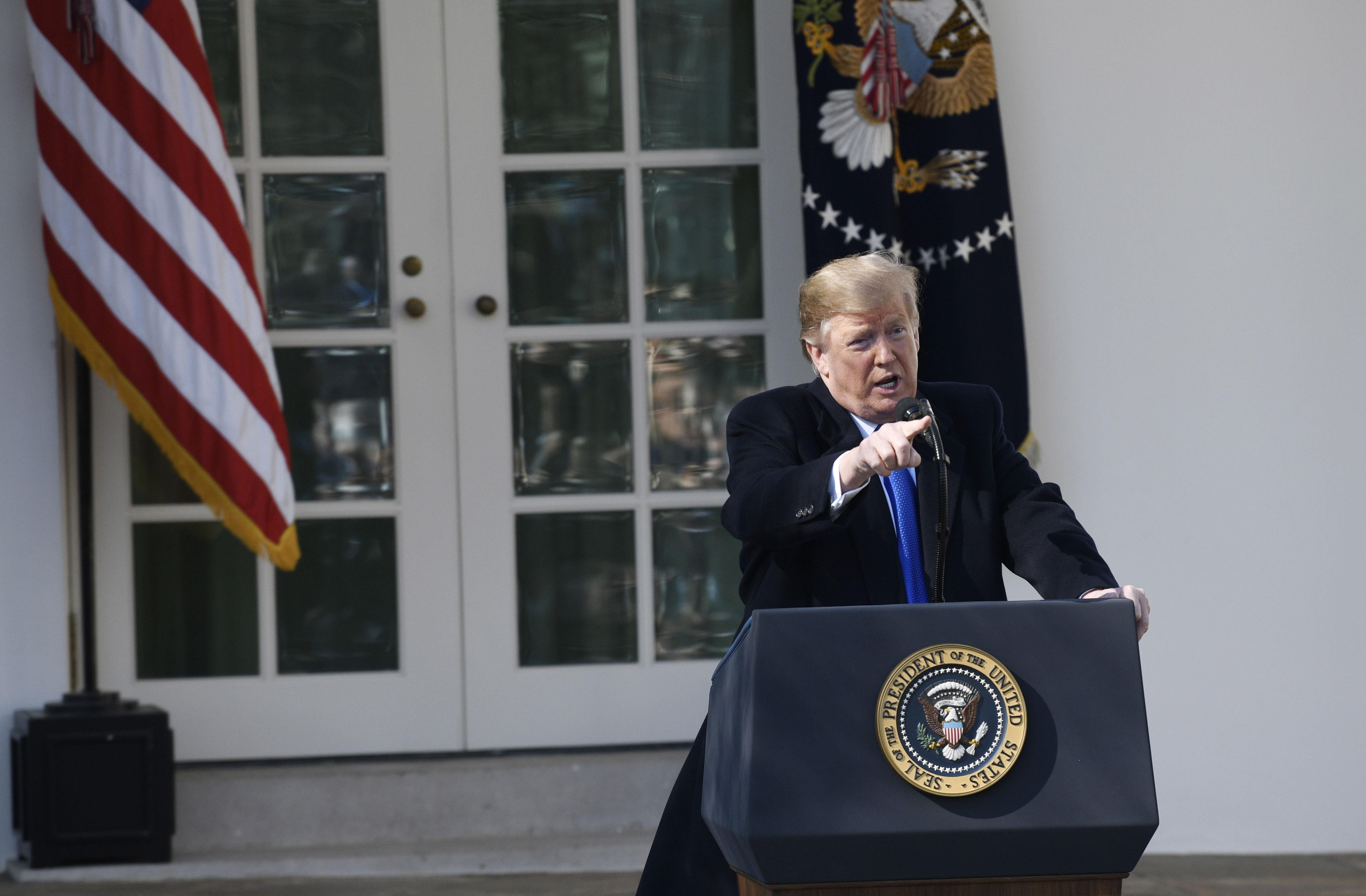 US states revolt against Trump presidency