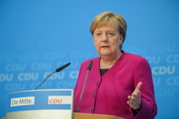 Most Germans want Merkel to stay in office until 2021