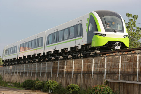 China makes 1st smart inspection vehicle for maglev lines - China org cn