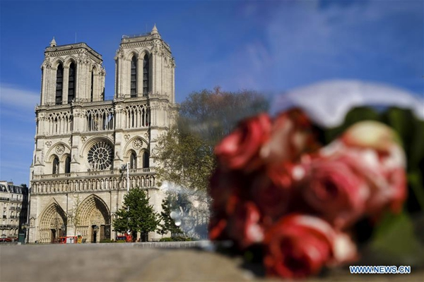 France to launch int'l competition to rebuild Notre Dame