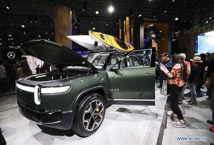 2019 New York International Auto Show opens to public