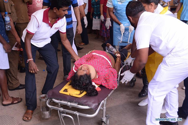 13 arrested in Sri Lanka over multiple explosions