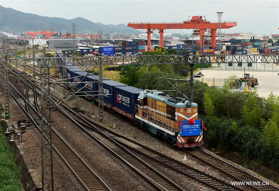 Europe freight train cargo value surges by 106 pct