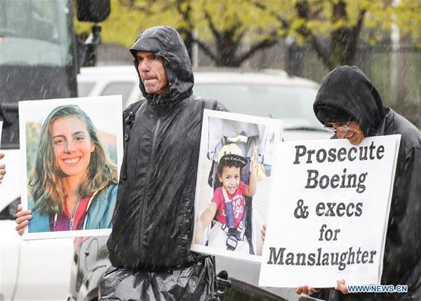 Families of 737 MAX crash victims file suit against Boeing
