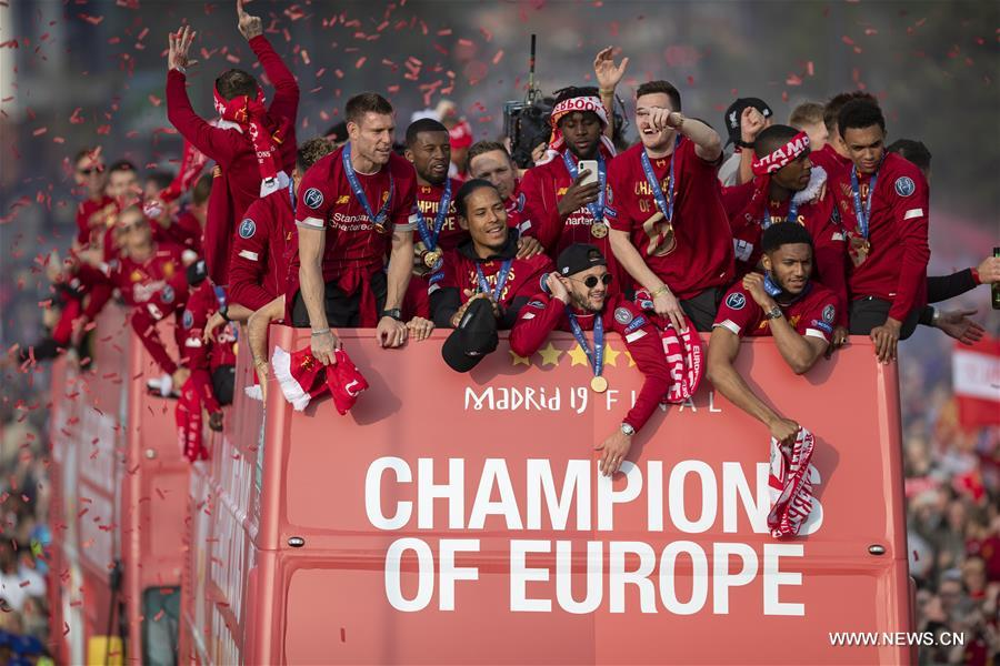 Liverpool Celebrate Ucl Win With Victory Parade China Org Cn