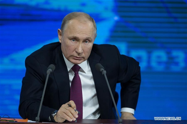 Putin says Russia open to dialogue with US