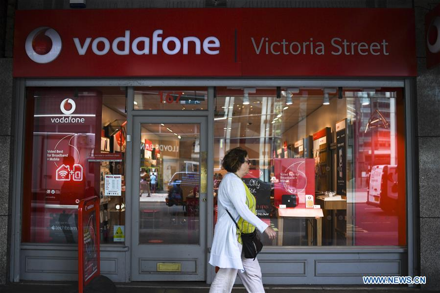Vodafone launches 5G service in UK using Huawei equipment- China org cn
