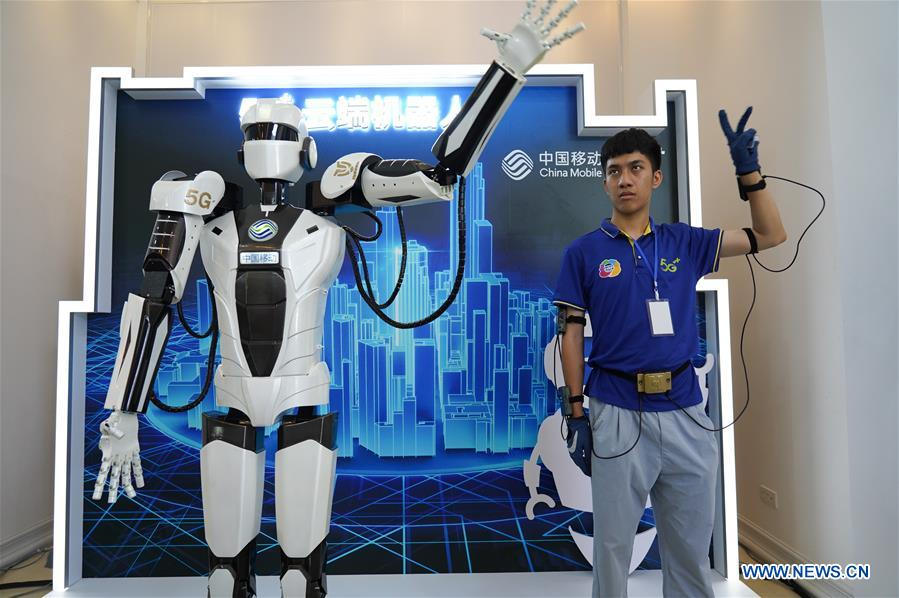 Int'l mobile IoT expo opens in east China