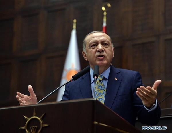 Erdogan: Turkey to start operation east of Euphrates in Syria