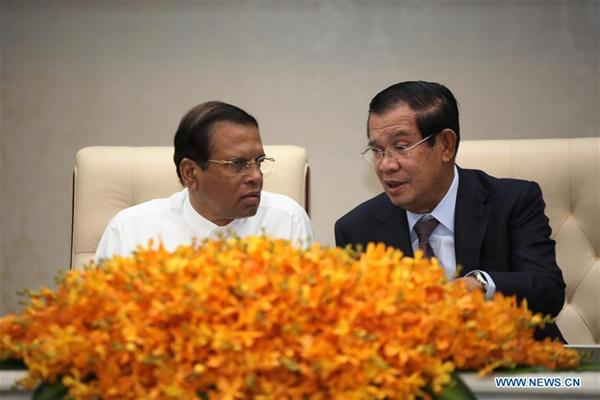 Cambodia, Sri Lanka sign 2 deals to boost bilateral ties