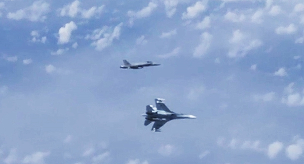 Russian fighters drive NATO warplane away from defense chief's plane