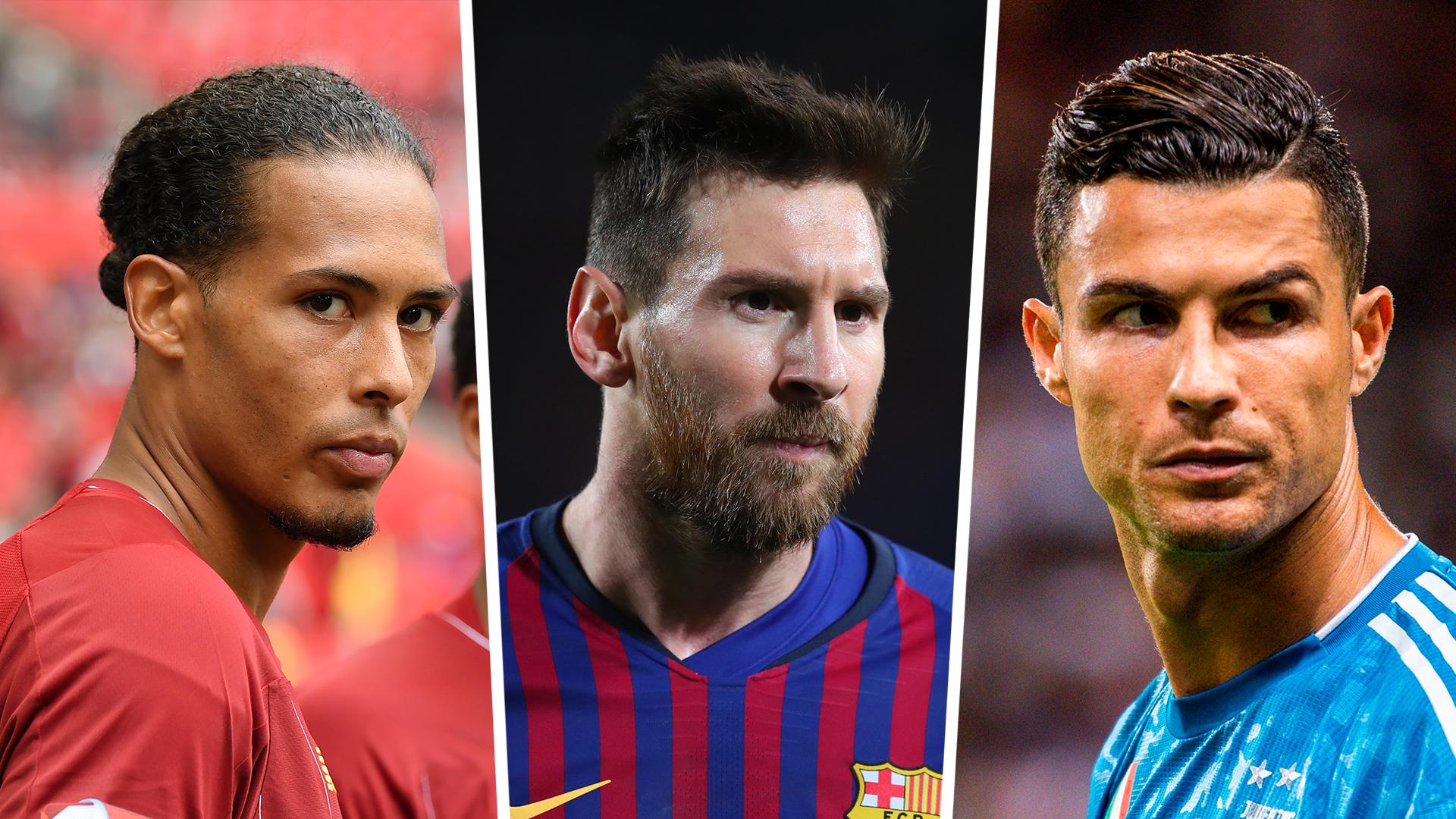 Van Dijk, Messi & Ronaldo up for UEFA Player of the Year
