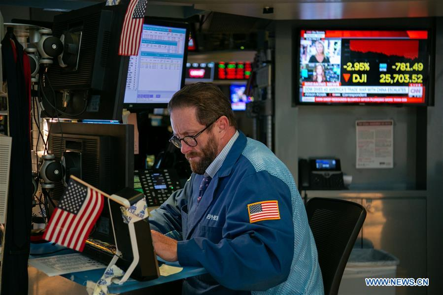 US stocks close lower amid earnings, recession fears