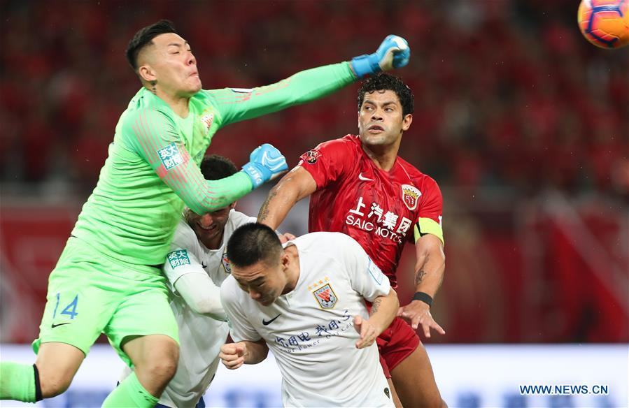 Shandong Luneng beat Shanghai SIPG to enter CFA Cup final