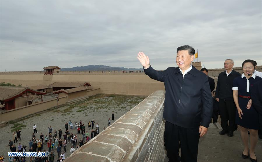 Preserving Great Wall as Chinese nation's symbol: Xi