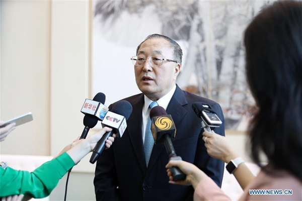 Chinese envoy urges safeguarding legitimate rights of Palestinian people