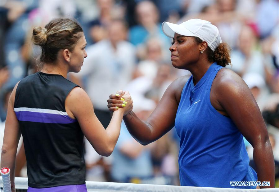 American Taylor Townsend Upsets No. 4 Simona Halep at U.S. Open