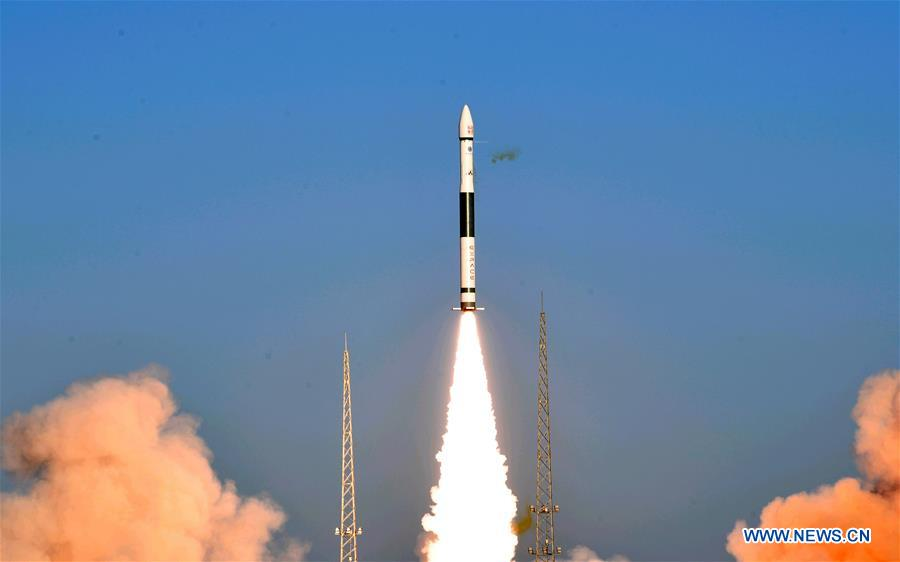 China's KZ-1A rocket launches two satellites