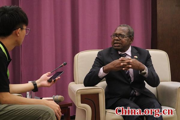 BRI matters in building capacity: Zimbabwean ambassador to China