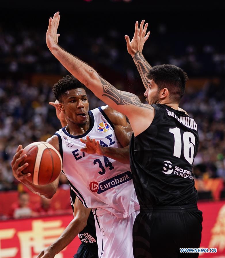Greece fury after NBA MVP Antetokounmpo exits World Cup