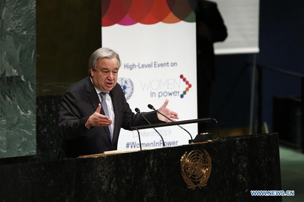 UN chief asks African states to tackle terrorism, climate change
