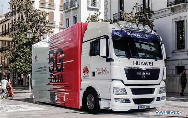 Head of Huawei 5G product line says demand for products grows steadily