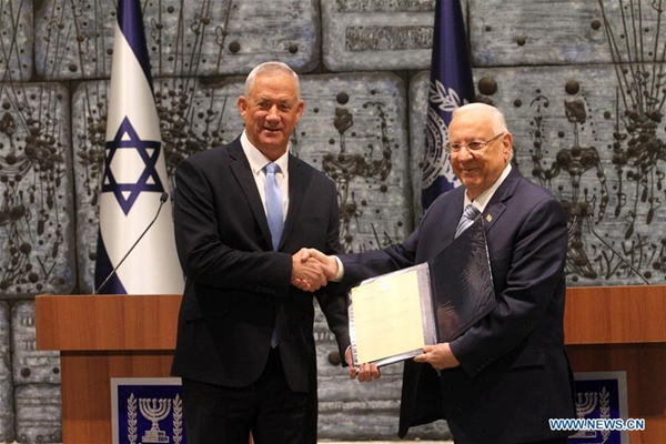 Netanyahu's rival tasked with forming Israeli gov't