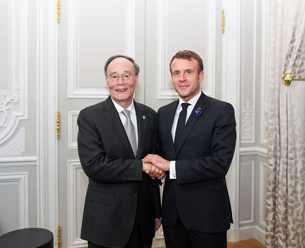 China ready to advance relations with France to new level