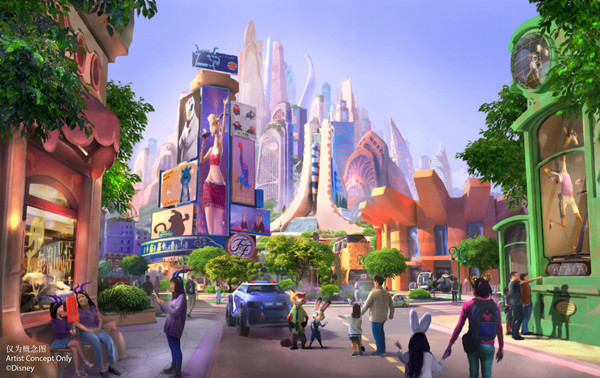 Shanghai Disneyland starts building 'Zootopia'