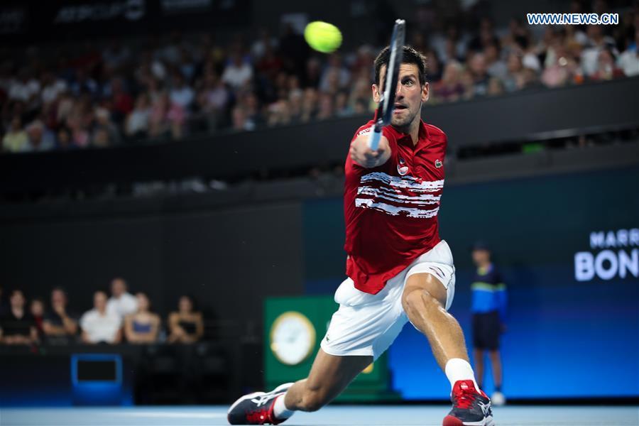 Djokovic Lifts Serbia To Atp Cup Quarterfinals China Org Cn