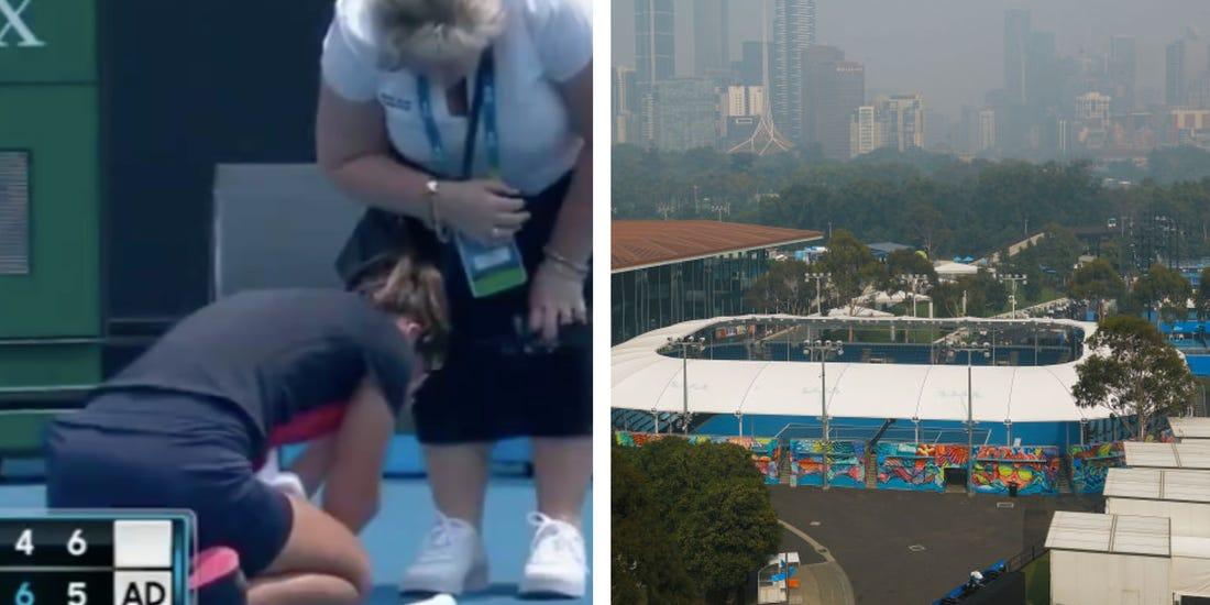 Australian Open Qualifying Delayed Due To Bushfire Smoke