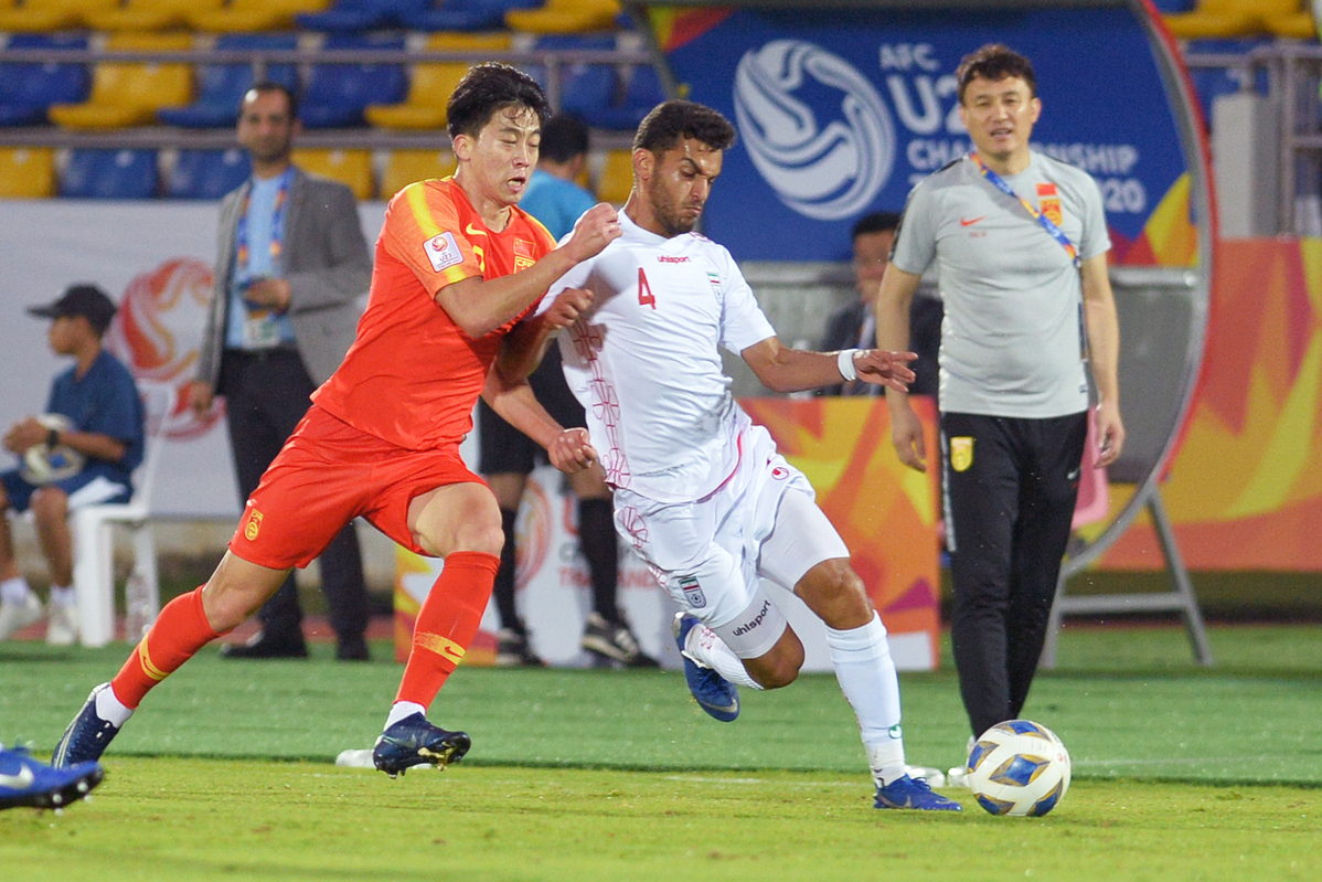 Under 23s Sink To New Goalless Low China Org Cn
