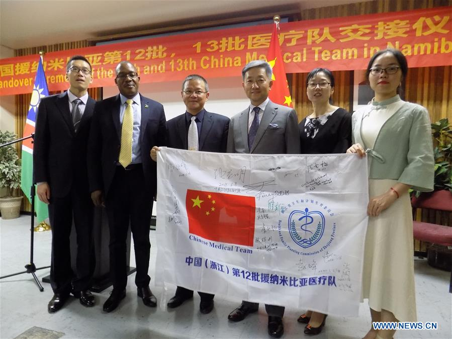 Chinese medical team in Namibia treats over 20,000 patients in 18 months