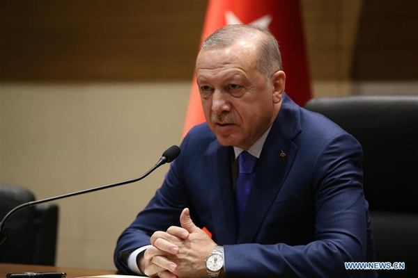 Erdogan blames int'l community for not showing fast response to Libya's crisis