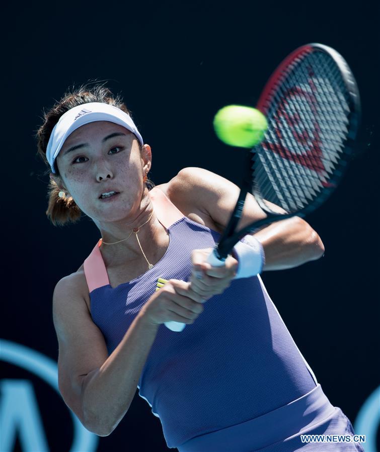 Wang Qiang Progresses At Australian Open Peng Shuai Felled