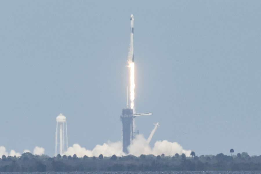 SpaceX Crew Dragon Launches for ISS, #LaunchAmerica En Route Historic Success