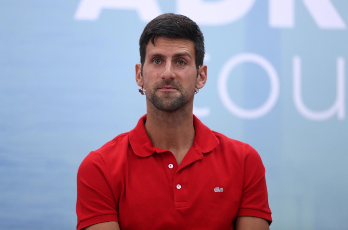 Dan Evans dismisses Novak Djokovic's US Open concerns over Covid-19 protocols
