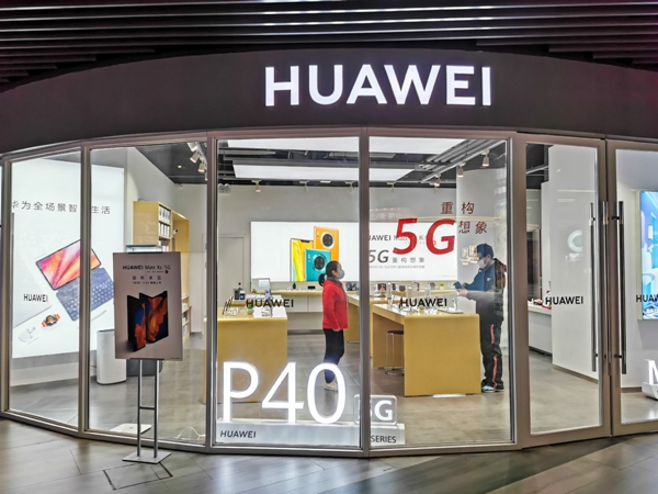 Huawei takes top spot in smartphone market share for first time