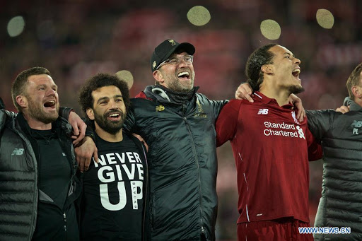 Jurgen Klopp urges Liverpool fans to celebrate when 'the time is right'