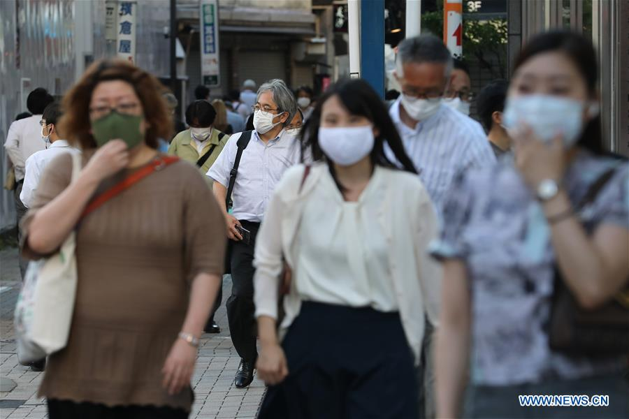 Covid 19 Cases In Tokyo Continue To Rise New Daily Infections Hit 2 Month High China Org Cn