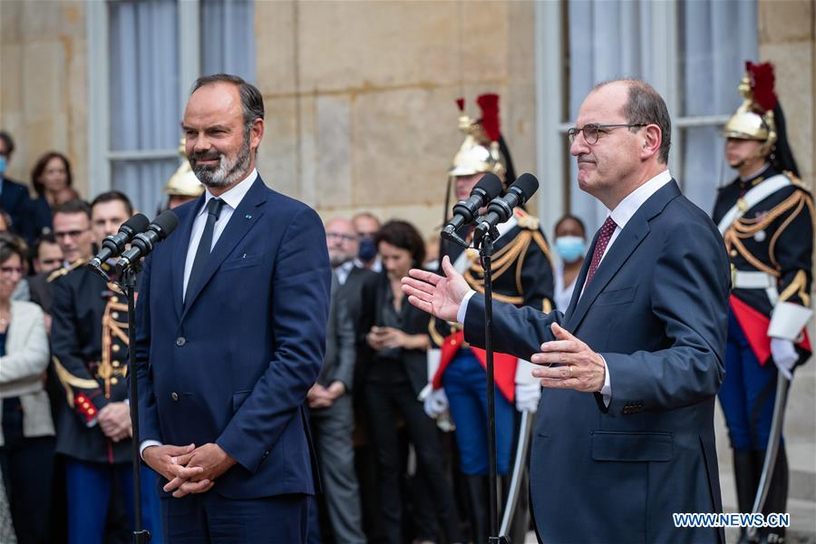 French President Appoints Jean Castex As New Pm China Org Cn