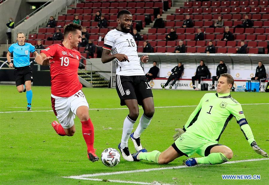 Germany ties Switzerland in UEFA Nations League_china
