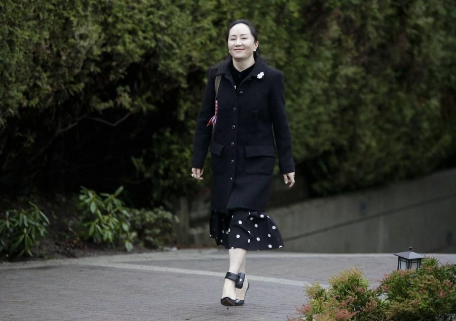Huawei CFO Meng Wanzhou attends five-day court hearing in Canada