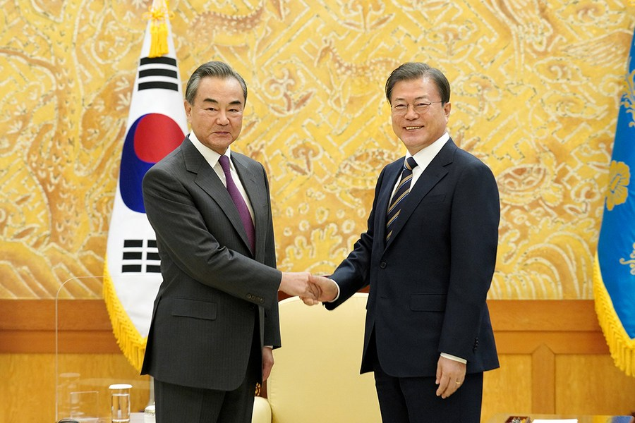 South Korea will work with China to achieve North Korean denuclearization: Moon