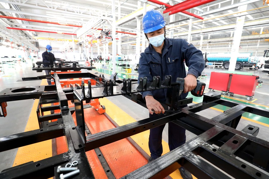 China's factory activity expands at fastest pace in over three years