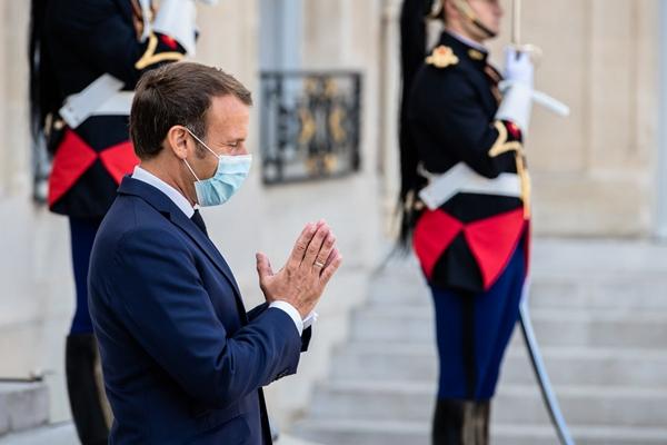 France's Macron showing no more Covid-19 symptoms, Elysee says