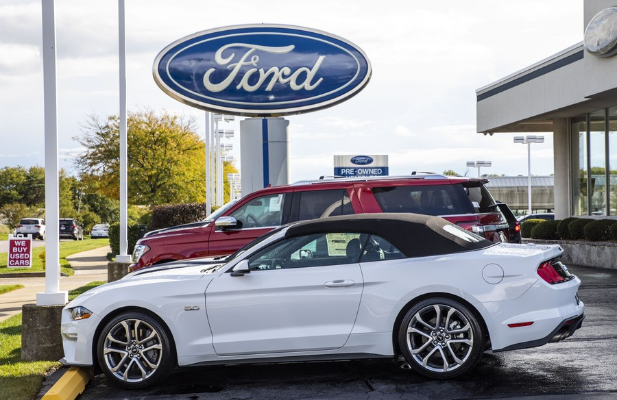 Ford sales in China up 6.1% in 2020